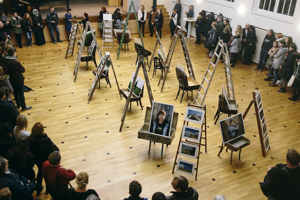 Ausstellung, Audimax Hochschule Nordhausen (Februar 2016)